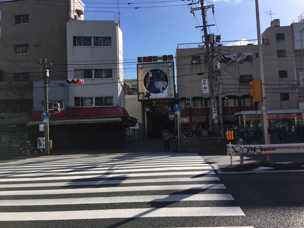 飛田新地 商店街